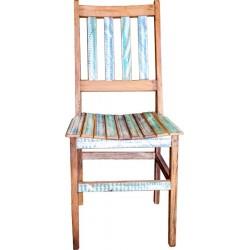 Cadeira Ripas Separadas Colorida